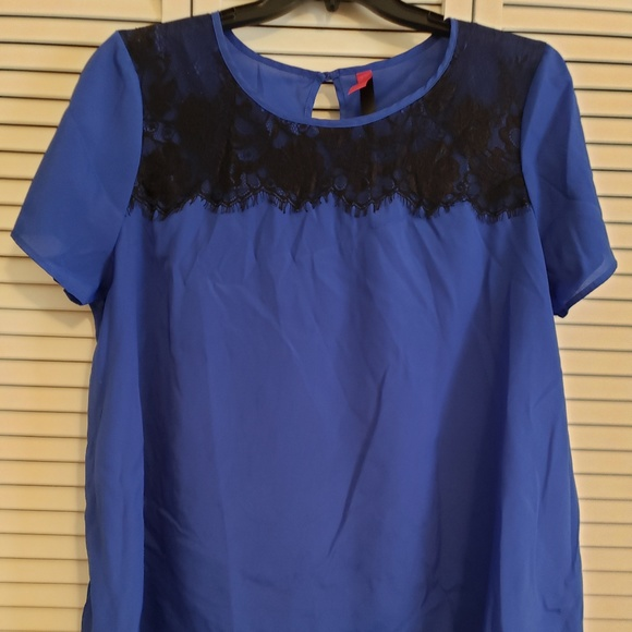 Pure Energy Tops - Lightweight royal blue tunic